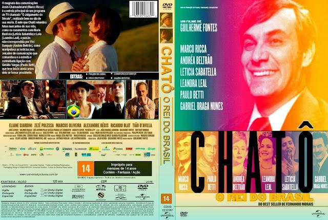 Capa DVD Chatô O Rei Do Brasil