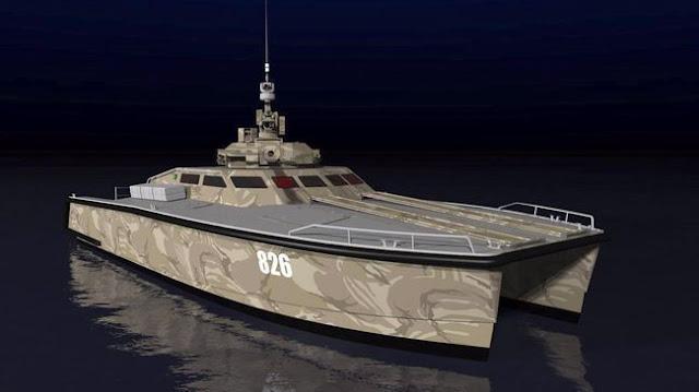 Tank Boat Buatan Pindad Dipamerkan di Indo Defence Expo 2016