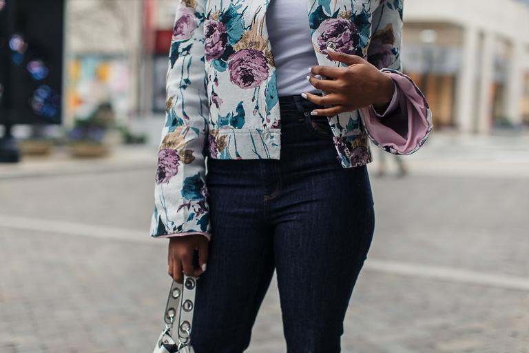 Blogger wearing ASOS