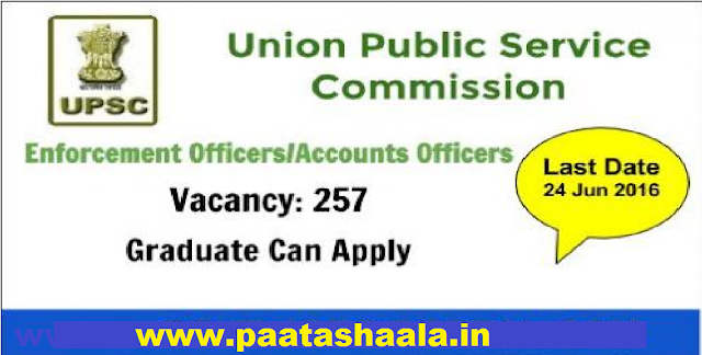 UPSC Recruitment 2016 for Enforcement Officer/ Accounts Officer, Apply before 23 June @upsc.gov.in|Union Public Service Commission| Provident Fund Organisation, Ministry of Labour & Employment. /2016/06/upsc-recruitment-2016-for-enforcement-officer-accounts-officer-union-public-service-commission-ministry-of-labour-and-employement.html