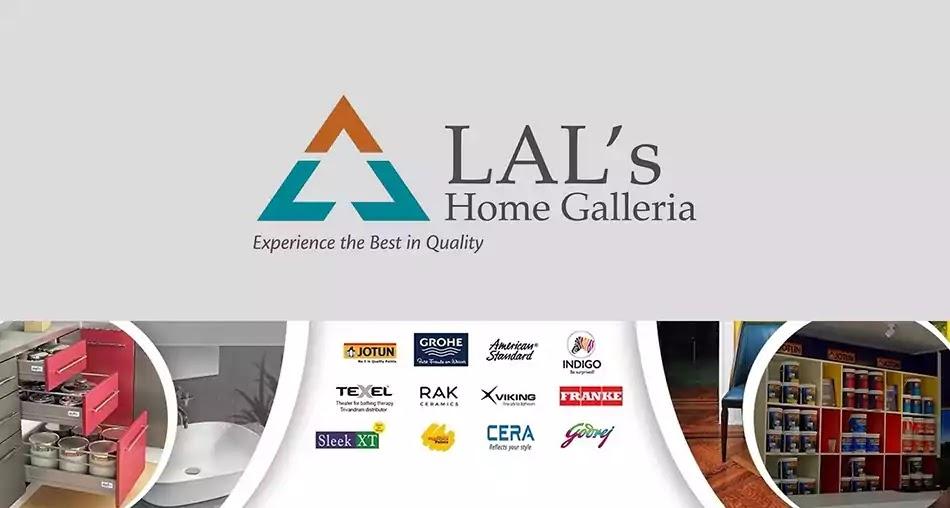 Lals Home Galleria, Logo, Emblem, Kulathoor, Thiruvananthapuram