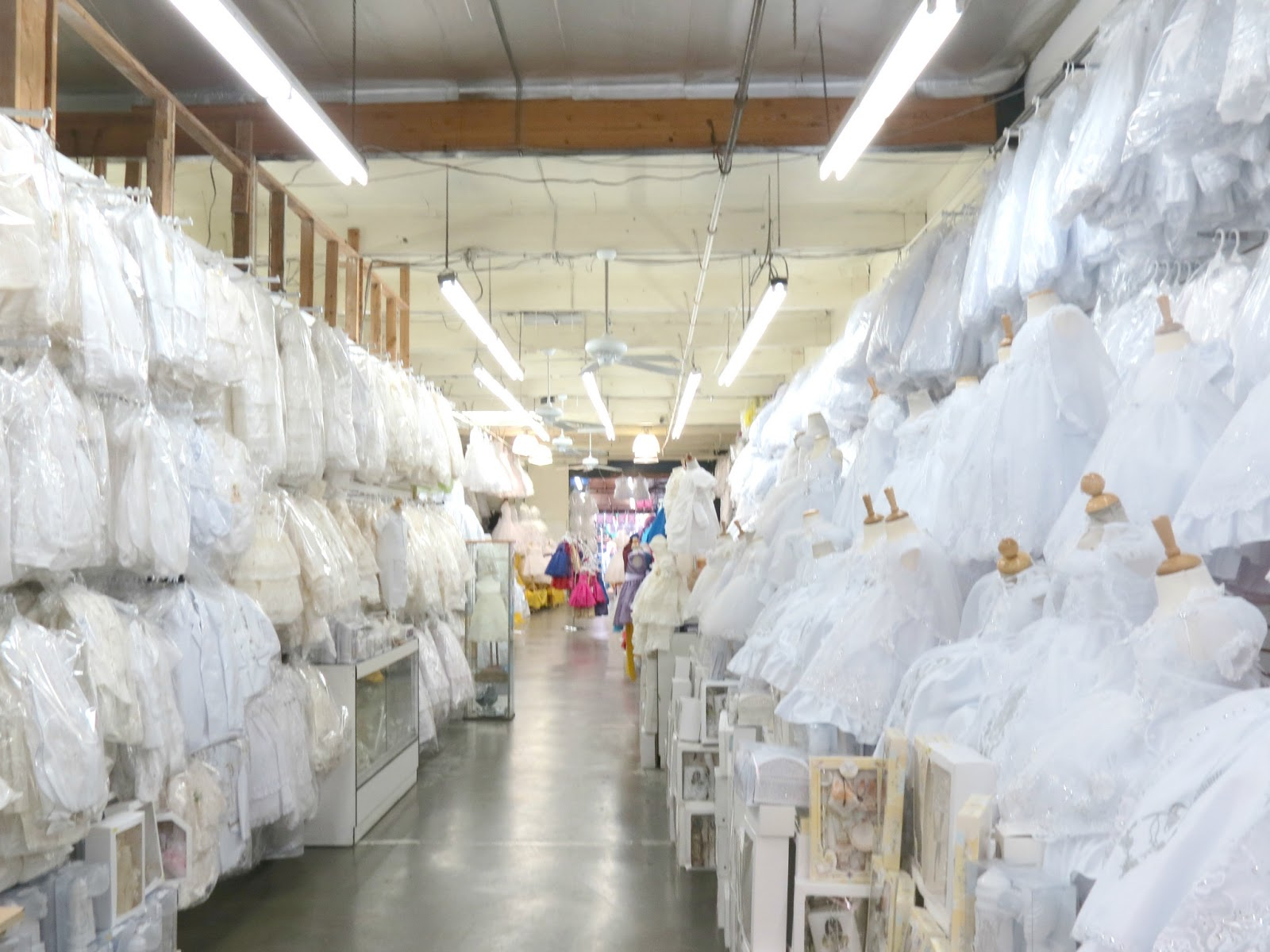 Los Angeles Garment District Wedding Dresses