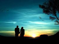 BBM MOD APK | Tema Romantic In Blue Sky versi 3.1.0.13 Terbaru