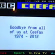 Digital Switch Over and bye bye Ceefax