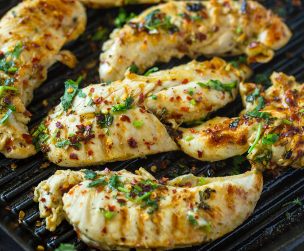 GRILLED CHILI CILANTRO LIME CHICKEN #vegetarian #chili #cauliflower #chicken #food