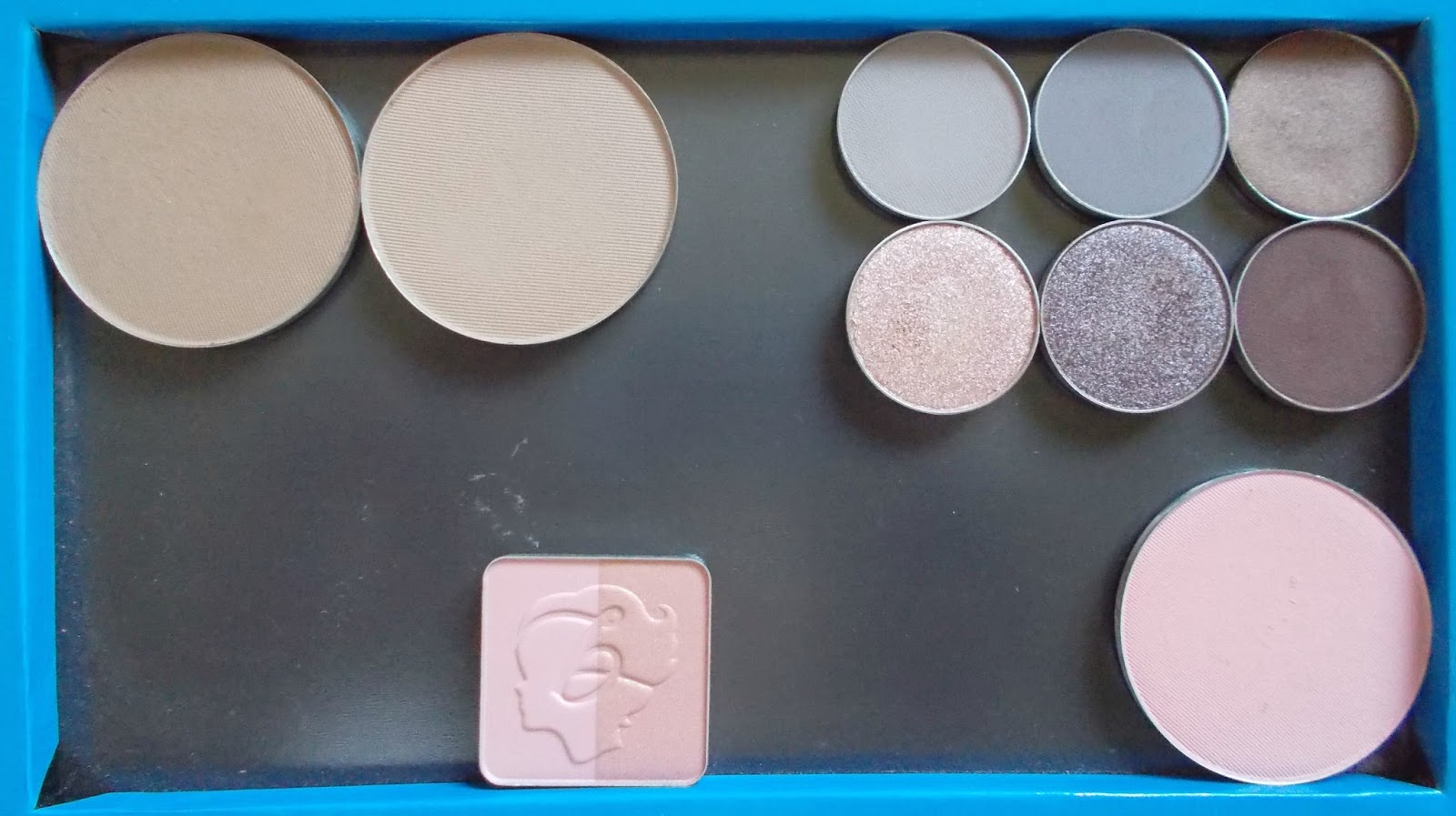 large z palette makeup geek contour blush eyeshadow benefit