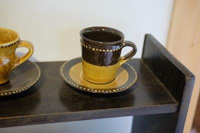 鳥取の窯元・工芸 クラフト館 岩井窯 山本教行氏のコーヒーカップ