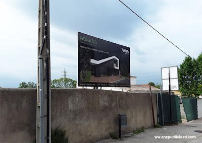 instalacion de valla publicitaria pequeña
