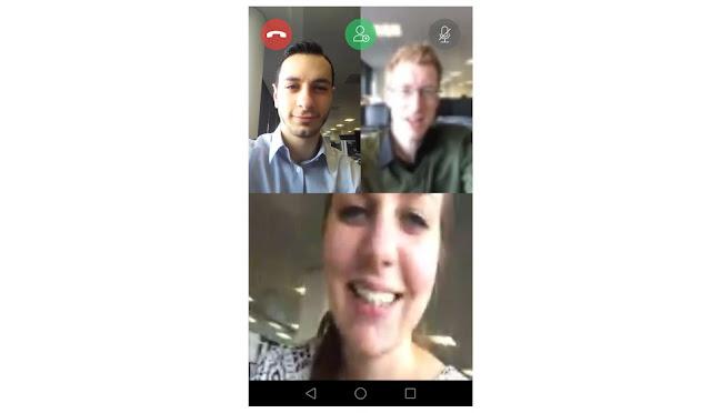 Cara membuat panggilan video call grup di WhatsApp