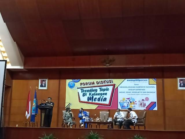 Forum diskusi slogan baru BNN