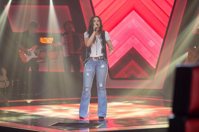 Rondoniense Fernanda Silva brilha no The Voice mas não acreditava que era possível: 'Quem ia me achar?'