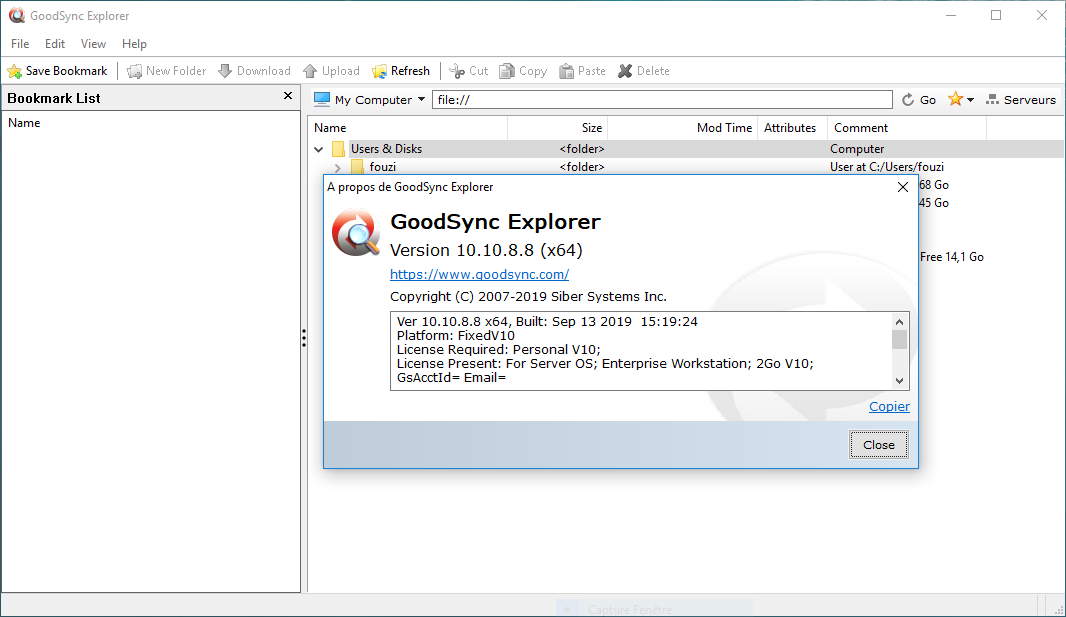 تحميل أفضل برنامج لمزامنة الملفات وعمل نسخ احتياطية لها تلقائيًا GoodSync Enterprise 10.10.8.8