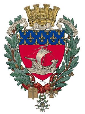 Medaille Souvenir De Ville De Paris Avec Blason