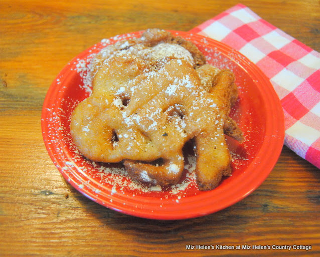 County Fair Funnel Cakes at Miz Helen's Country Cottage