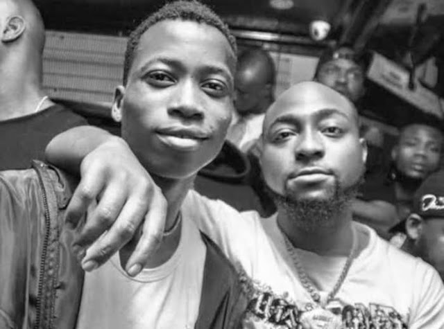 Davido terminates Lil Frosh contract with DMW Music, see why