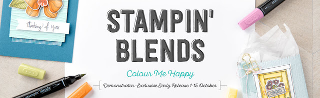 Exclusive Stampin' Blends by Stampin' Up! available when you join in October