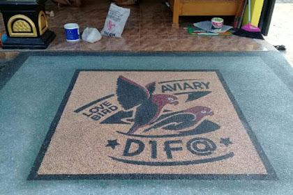 Jasa lantai batu sikat kediri, jasa lantai carport kediri, tukang carport kediri 082230564685