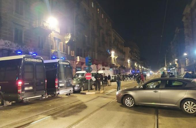 Torino, sgomberato edificio occupato da anarchici