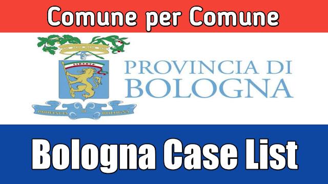 Comune de hisab nal Bologna di list 28/03/2020