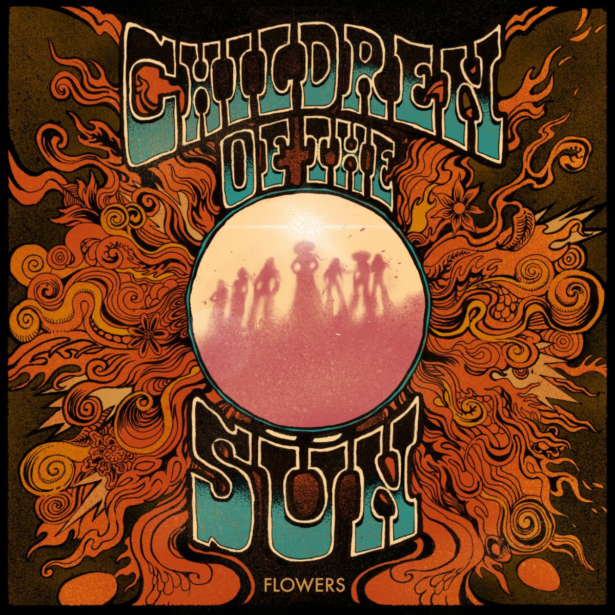 Children of the Sün Flowers album cover