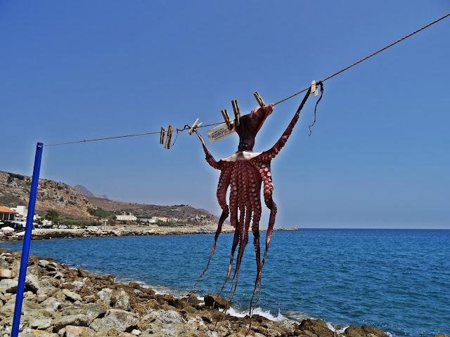 suszone owoce morza w Grecji jak się to robi?