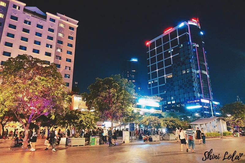 Nguyen Hue Market