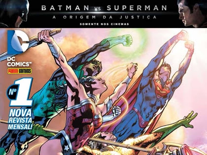 Lançamentos de abril: Panini Comics - DC Comics