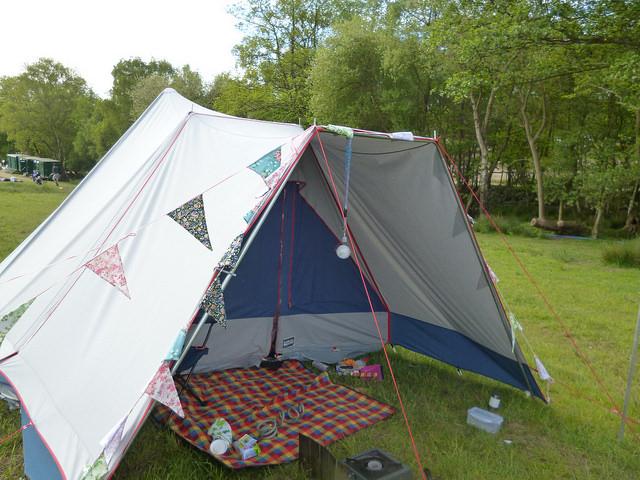 Lichfield pyramid tent