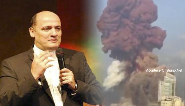 Pastor Said Deeb en Beirut, Líbano