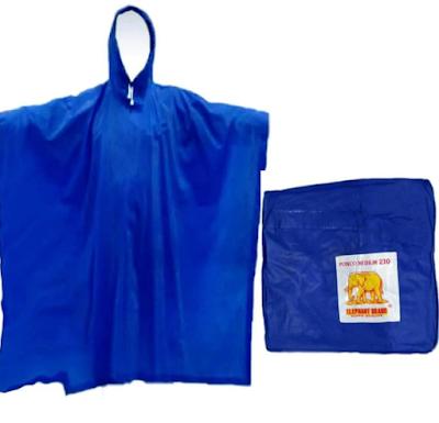 MURAH ! Jas Hujan Ponco Lengkap dan Harganya untuk Musim Hujan