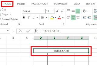 Cara Menebalkan Garis Tabel Microsoft Excel