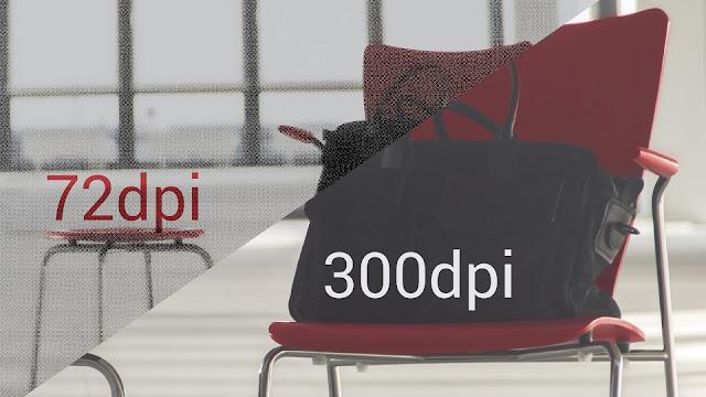 Perbedaan 72 DPI dengan 300 DPI Pada Gambar