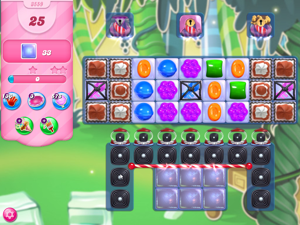 Candy Crush Saga level 3559