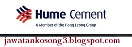 Kerja Kosong terbaru Hume Cement