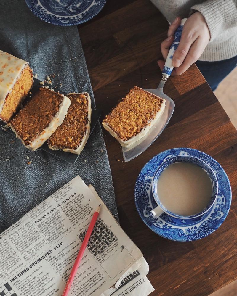 Recette britannique de cake à la marmelade d'orange