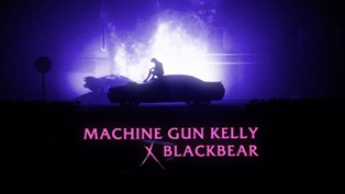 my ex's best friend Lyrics - Machine Gun Kelly & blackbear