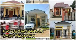 5 Desain Rumah Ukuran 6x12 Terpopuler