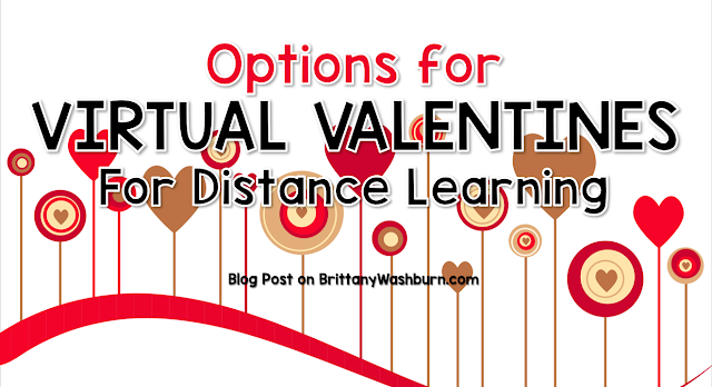 Virtual Valentines for Distance Learning