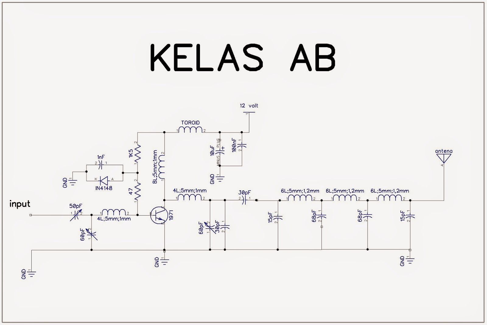 Elektronikaog Membuat Booster Rf Amplifier