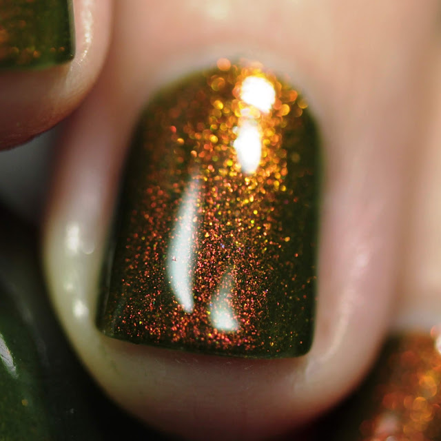 KBShimmer Having A Gourd Time swatch by Streets Ahead Style