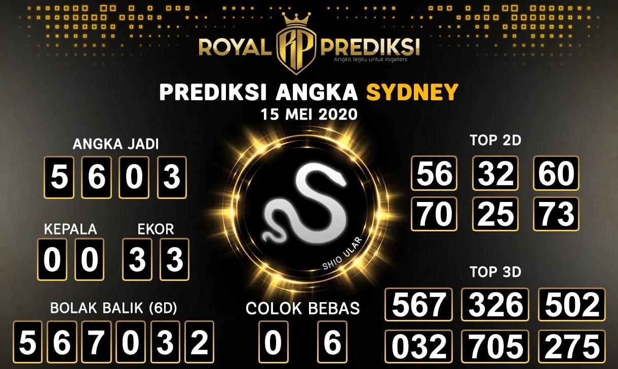 Prediksi Sydney 15 Mei 2020 - Royal Prediksi