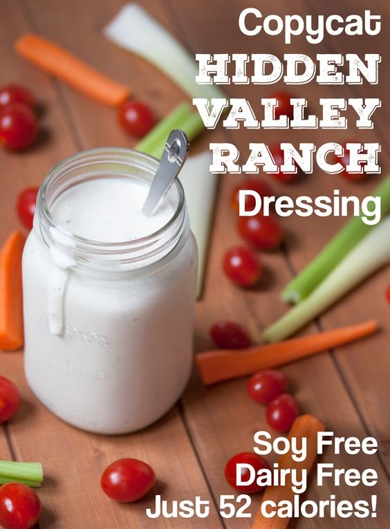 Vegan Copycat Hidden Valley Ranch Dressing