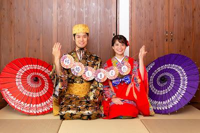 沖縄 琉装 着物 撮影会