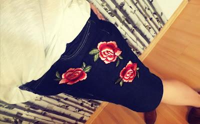 modna spódnica z niemodnych spodni