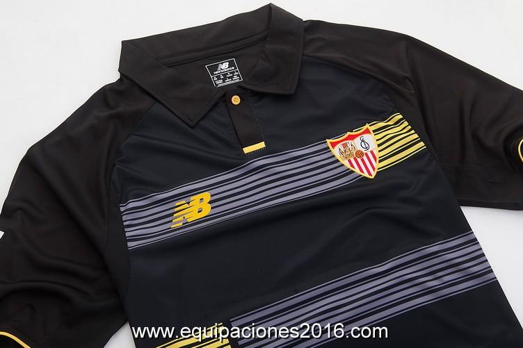 4dd230c884a4d Las ventas en línea camisetas de futbol oficiales baratas. Comprar camisetas  de futbol Sevilla FC 2016 tercera equipación. Información de Jersey
