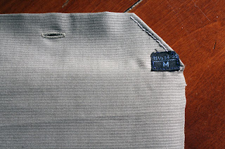 kindle case from old shirt