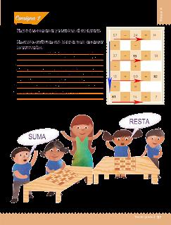 Respuestas Apoyo Primaria Desafíos matemáticos 3ro. Grado Bloque III Lección 43 Sumas y restas