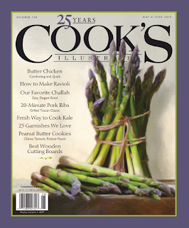 cooking from Cook's Illustrated magazine