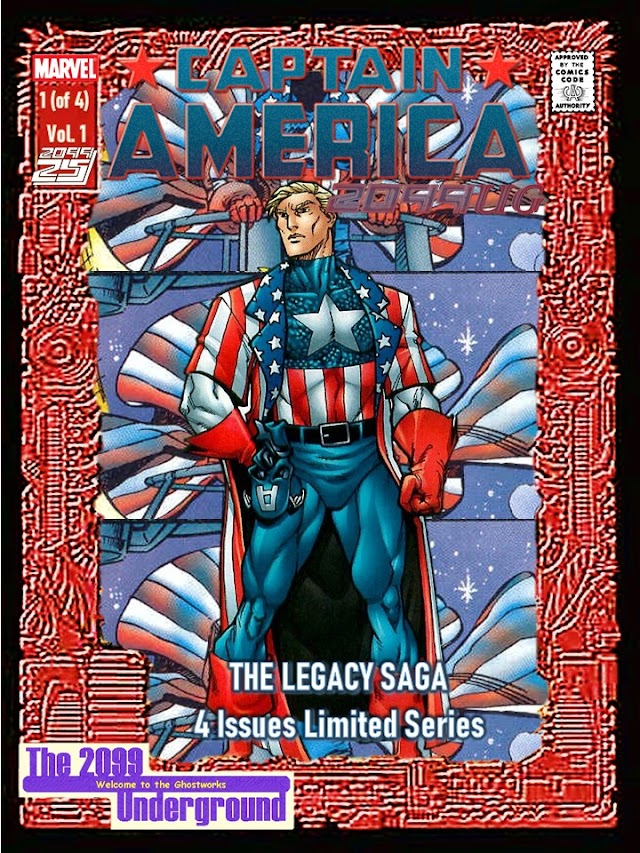 Captain America 2099UG Issue #1 (of 4)