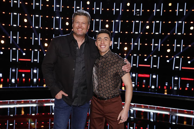 VIDEO INTERVIEW: RICKY DURAN FROM TEAM BLAKE TALKS PERFORMING ON 'THE VOICE' FINALE